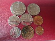 Подборка разных монет 8  ШТ  . ОРИГИНАЛ !! / Э 238