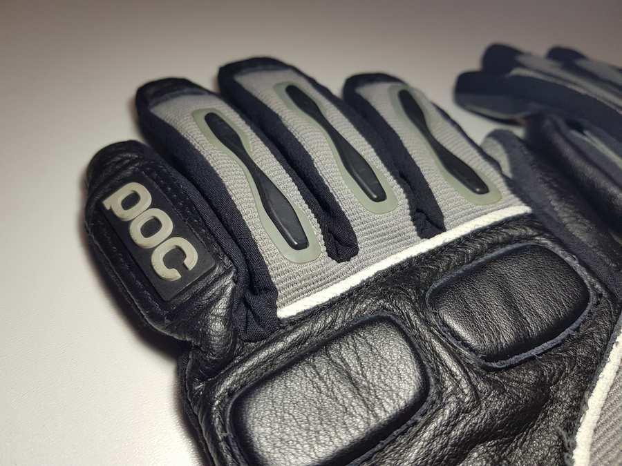 Перчатки велосипедные POC, кожаные, S-M, как НОВЫЕ!