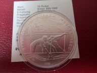 10 рублей 1978 Олимпиада 80 Гребля   , АЦ .ОРИГИНАЛ !!СЕРЕБРО . / Э 566