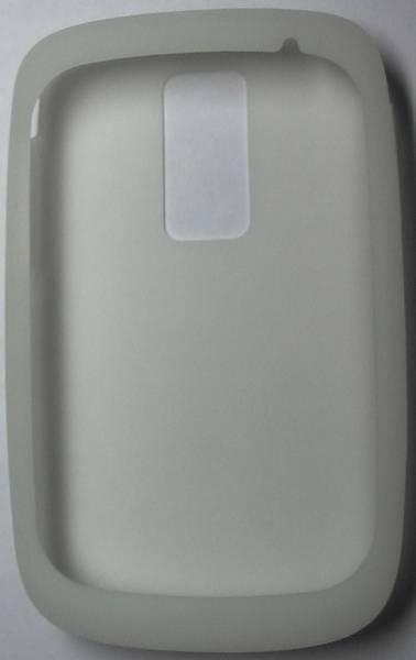 Силиконовый чехол для Blackberry Bold (белый)