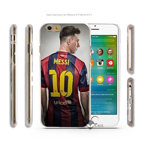 Чехол с Messi для iPhone 6S / 6 Football Club Barcelona