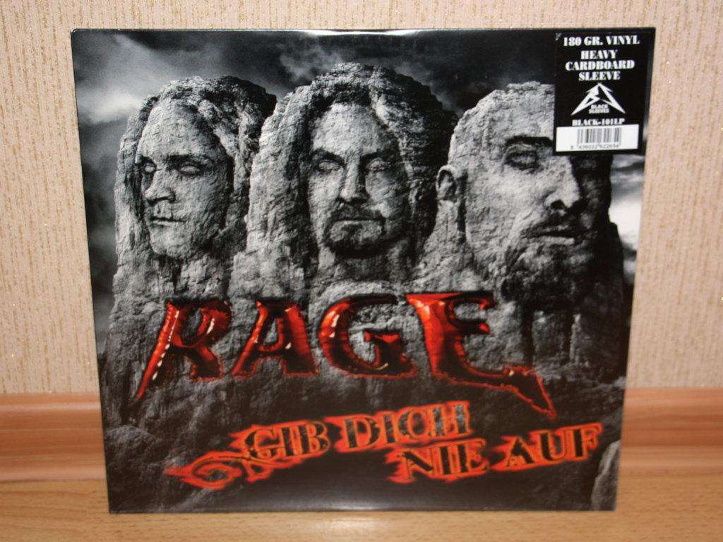 "RAGE ""Gib Dich Nie Auf"" 12"" EP"