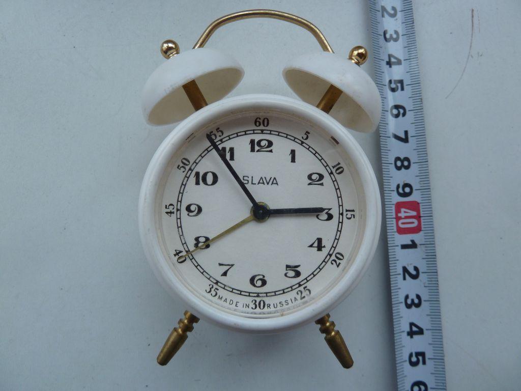 Часы Будильник с колокольчиками