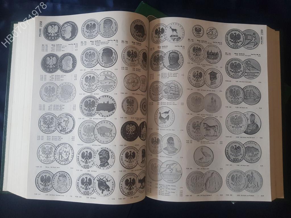 """Книга. Каталог Л.Краузе. """"Монеты мира"""".  В двух томах. 1991"""