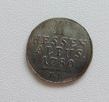 2 альбуса 1780 Гессен-Кассель Германия