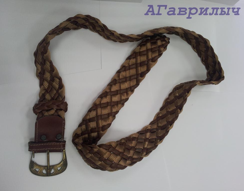 Ремень плетеный плетение плетенка СССР