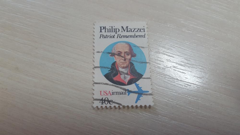 США. Стандарт. Авиа. Philip Mazzei. Гаш.
