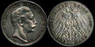 3 марки 1909г.Германия.Империя.