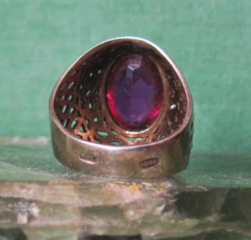 Кольцо Серебро 875 пр.СССР.Серебряное кольцо