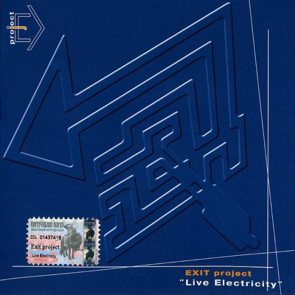 "(CD) EXIT PROJECT. ""LIVE ELECTRICITY"". (2002)"