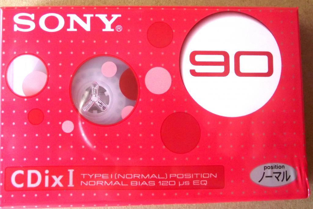 аудиокассета SONY CDix I (HF-X) 90 запечатана