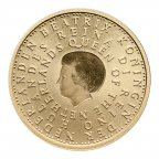 10 евро 2004 год. Нидерланды. Беатрикс. Золото 900. 6.7 грамм.