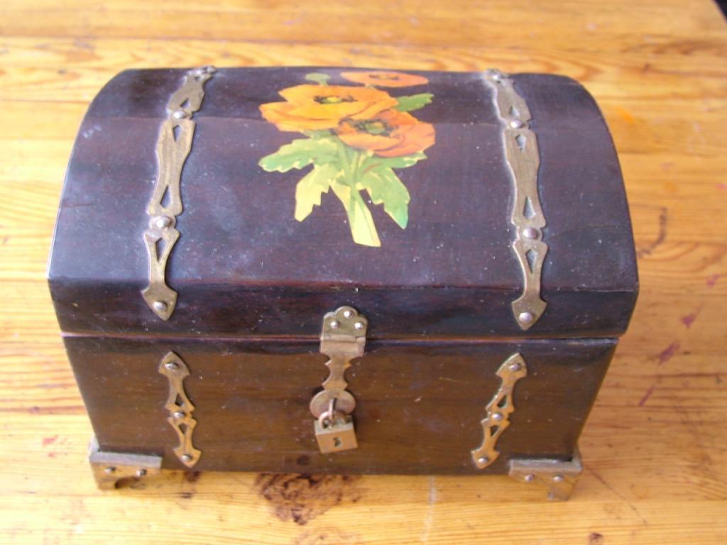 Шкатулка ларец. 1960-70-е