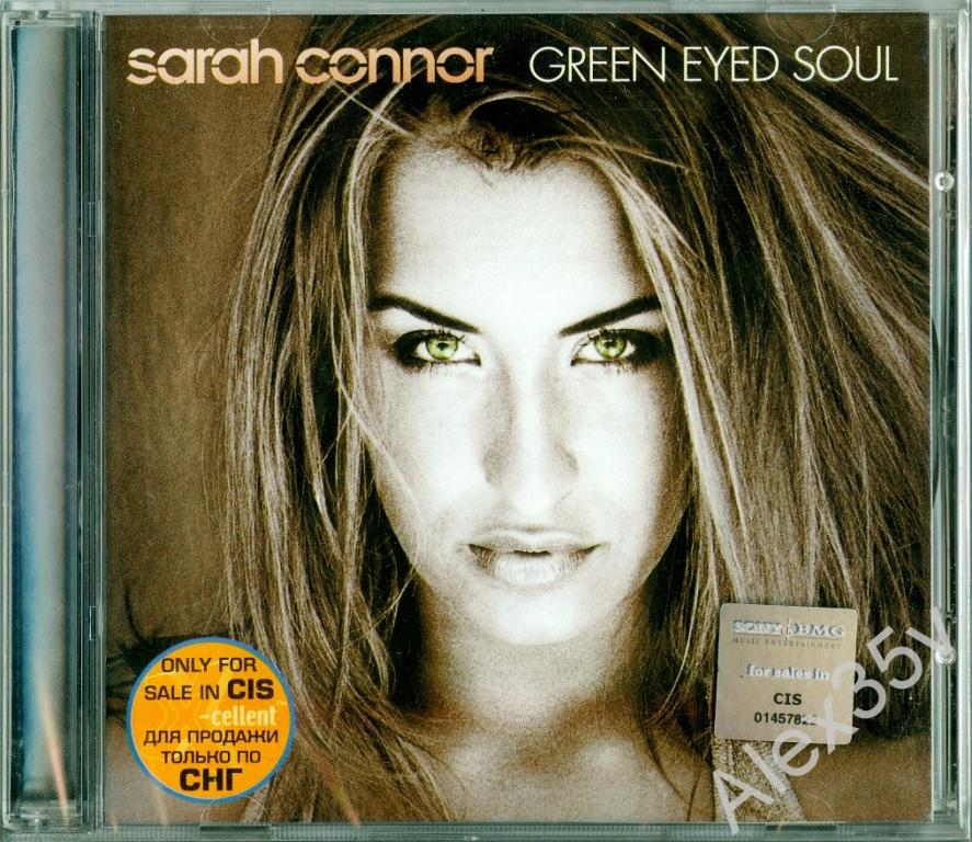 CONNOR SARAH - Green eyed soul  2001 Sony BMG CD