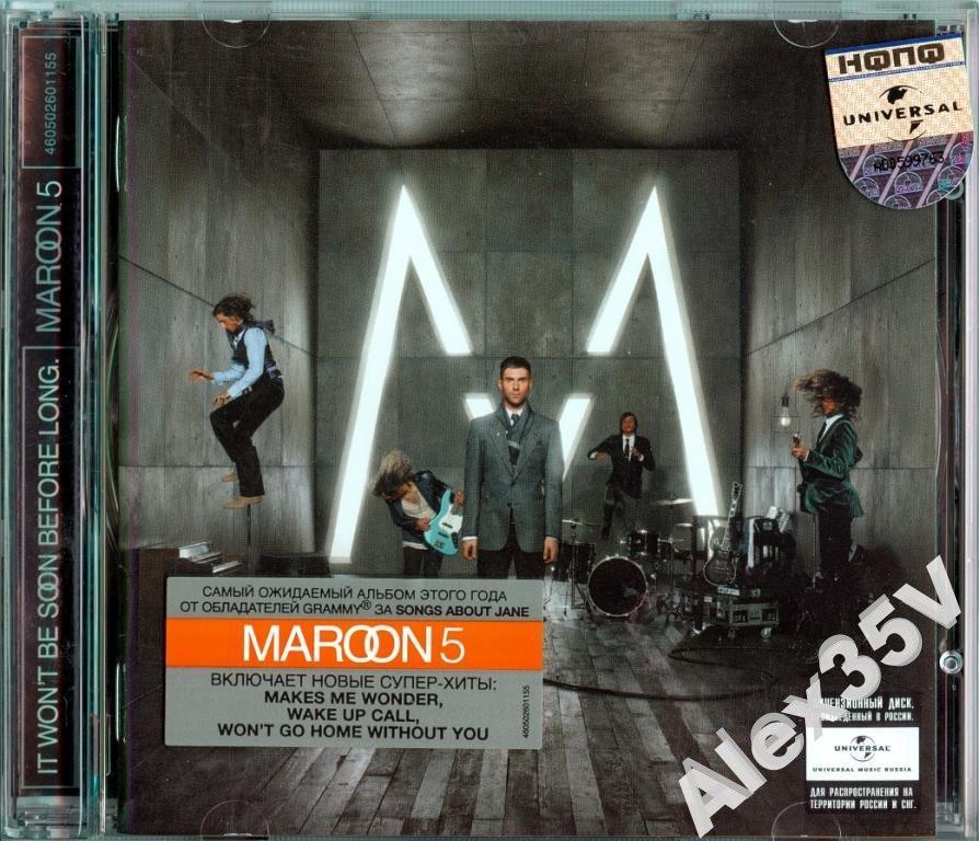 MAROON 5 - It Won't Be Soon Before Long /Буклет/  2007 Universal CD