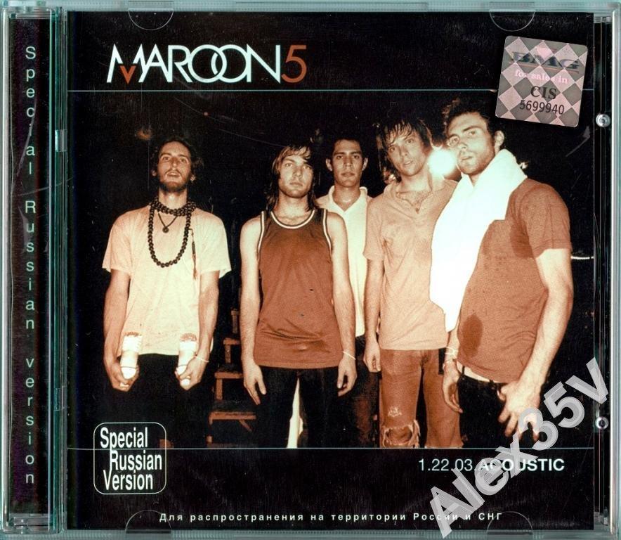 MAROON 5 - 1.22.03. acoustic  2003 BMG CD