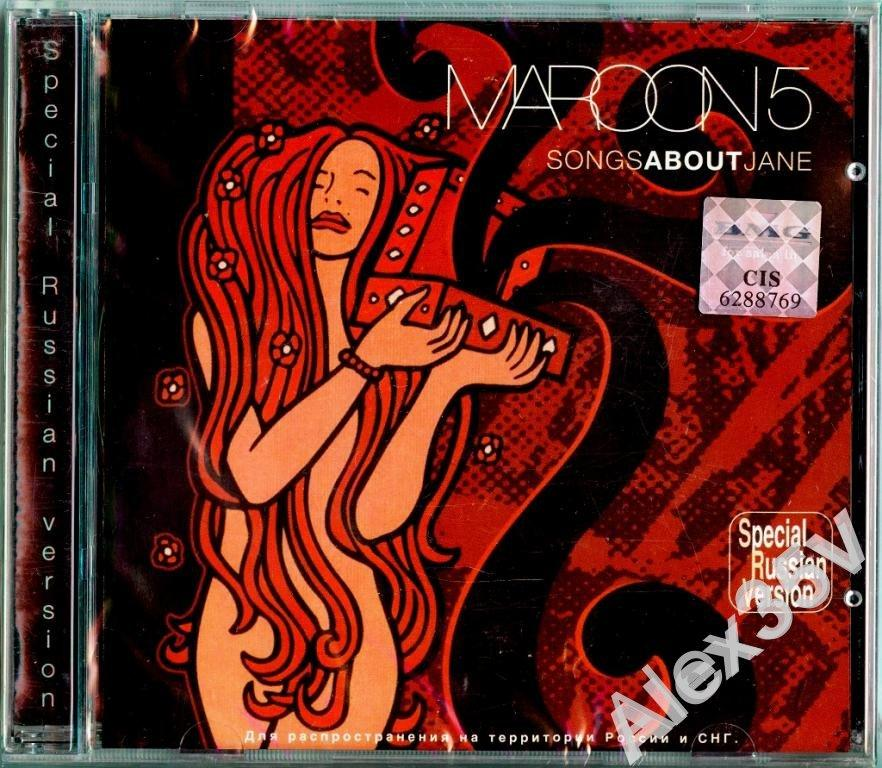 MAROON 5 - Songs About Jane  2003 BMG CD