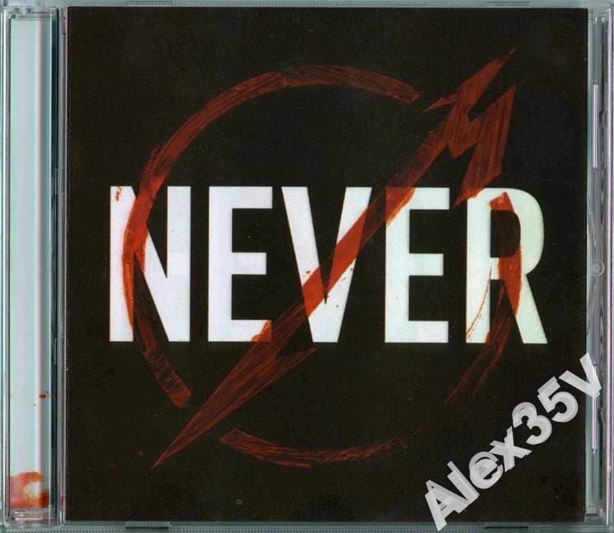 METALLICA - THROUGH THE NEVER /Буклет/  2013  2CD.