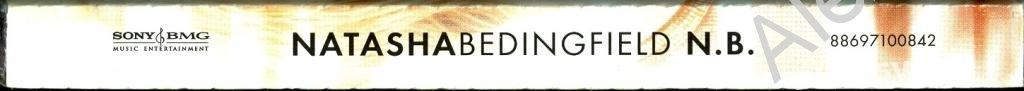 NATASHA BEDINGFIELD / Наташа Бедингфилд - N.B. /Obi, Буклет/  2007 Sony BMG CD