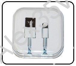 USB кабель iPhone  5/ 5S/ 5C /бокс/ белый