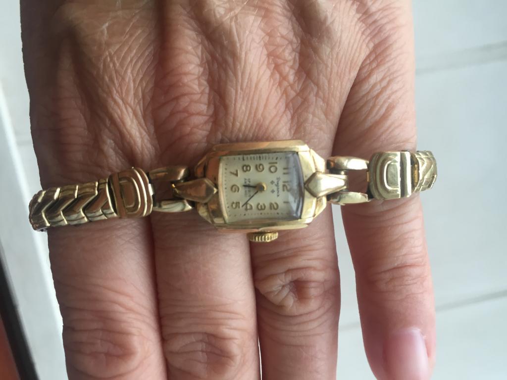 Часы,золото дубле, механика, Германия