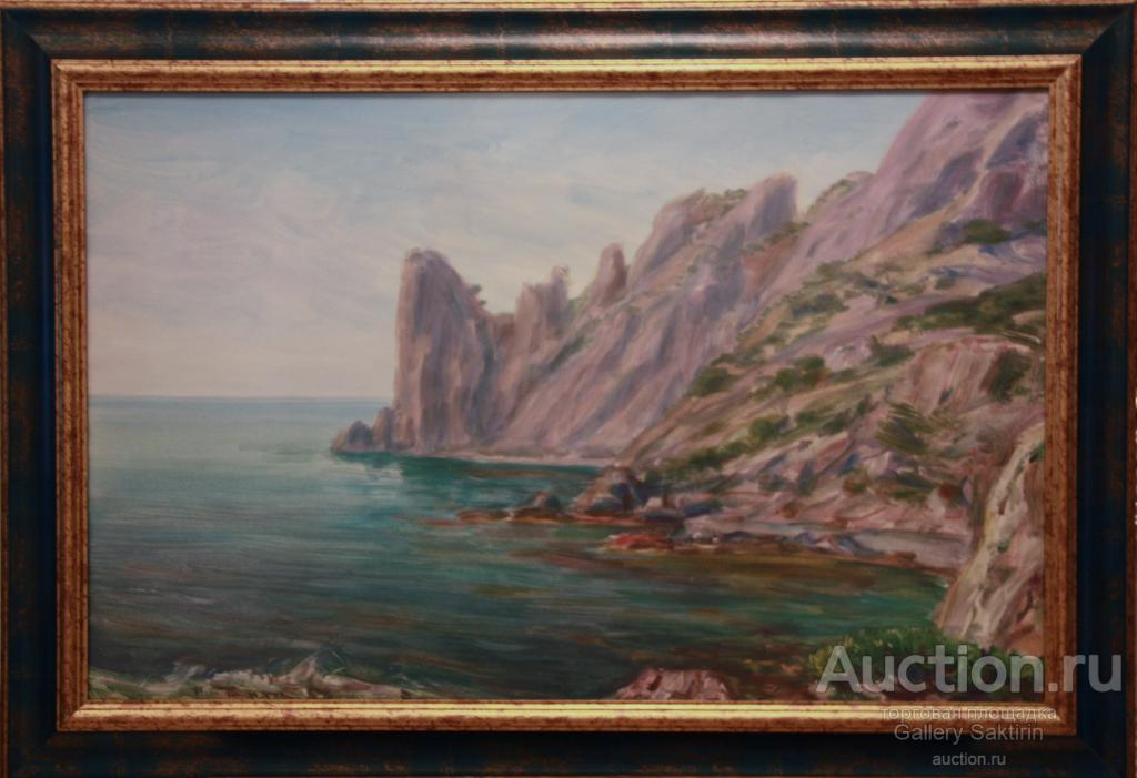 Барто Р.Н.(1902-1974) Черноморская бухта.1950-е гг.
