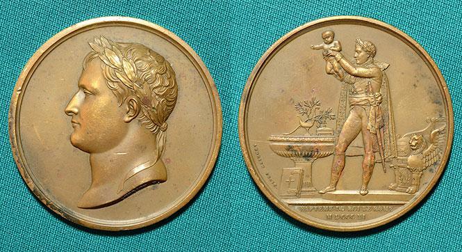 "Памятная медаль ""Наполеон.1811"" - #40757"