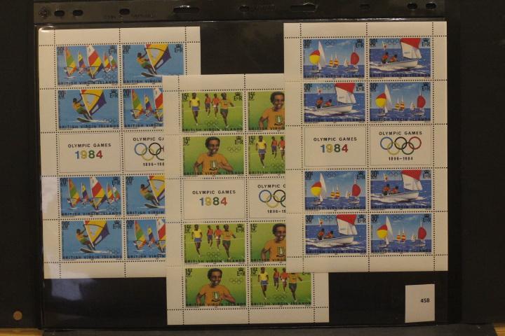 Олимпиады, спорт, футбол. Чистые марки (**)   ЛОТ 458