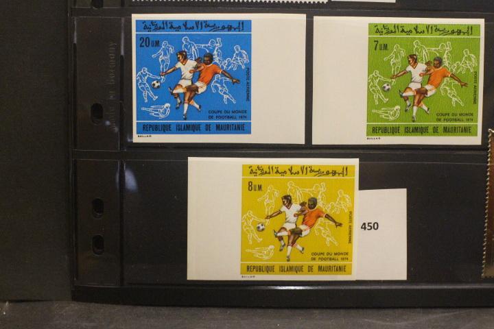 Олимпиады, спорт, футбол. Чистые марки (**)   ЛОТ 450