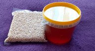 Ядро кедрового ореха 1кг + 1кг Алтайского мёда в подарок!!!