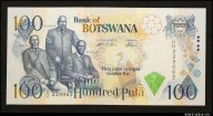 100 пула 2000 Ботсвана (pick 23a) UNC R !