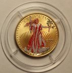 25 долларов 2000 год. США. American Eagle Gold Bullion. Золото 916 - 16.97 грамм.