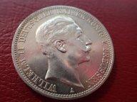 Германия Пруссия 3 марки 1912  (А) Вильгельм II   .ОРИГИНАЛ ! СЕРЕБРО ! / Я 381