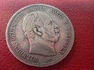 5 марок 1876 ( С) Пруссия Германия    .ОРИГИНАЛ ! СЕРЕБРО ! / Я 393