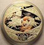 100 рублей 2005 год. 625-летие Куликовской Битвы. Серебро 925 - 1 килограмм. Тираж:500 шт. Редкость!