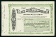 Баку. Консолидированные нефтяные месторождения 1 фунт UNC бланк с купоном (19387)
