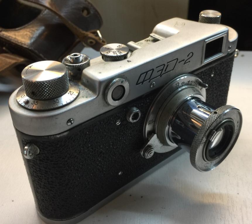 Фотоаппарат ФЭД-2 тубус