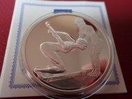 Греция 10 евро 2004 ПРУФ . Олимпиада-2004 в Афинах .ОРИГИНАЛ !!СЕРЕБРО . / Я 508