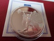 Греция 10 евро 2004 ПРУФ . Олимпиада-2004 в Афинах .ОРИГИНАЛ !!СЕРЕБРО . / Я 509