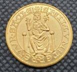 1 дукат. Германия 1970 г. Золото 986. 4,02 гр