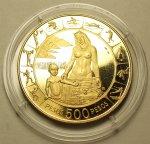 500 Песо 1971 год. Колумбия. Золото 900 пробы - 21.5 грамм.