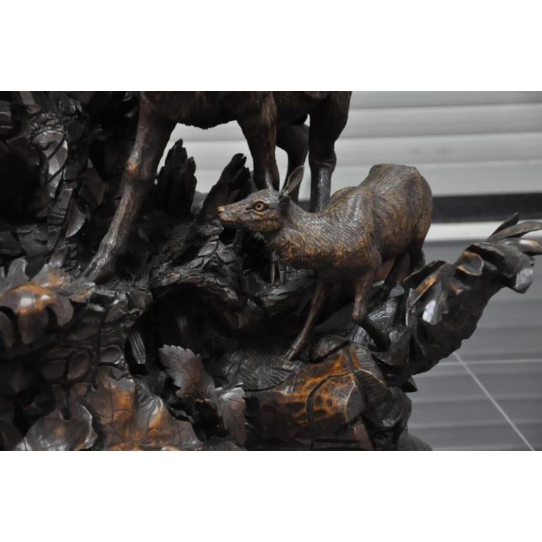 Уникальная музыкальная машина. Резьба по дереву. Ручная работа. 19 век.