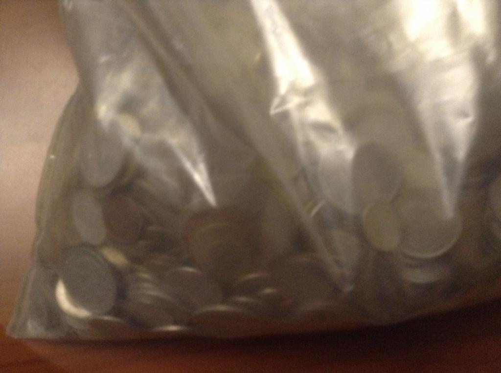 Монеты мира 10 кг Европа + Экзотика