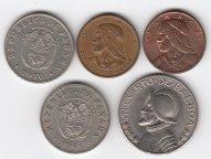 Панама...Ассорти монет в коллекцию...С РУБЛЯ...