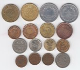 Чили...Ассорти монет в коллекцию...С РУБЛЯ...