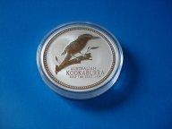 Австралия, 1доллар 2003г.  Фауна. Птица Kookaburra. Серебро.