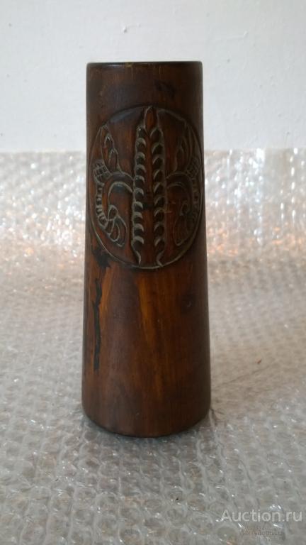 Карандашница вазочка для кистей РУССКИЙ СТИЛЬ