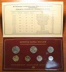 Набор монет «Монеты банка России 2008 год». От 1 копейки до 5 рублей. ММД. Редкость!