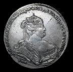 Рубль 1738 Лефкен с рубля