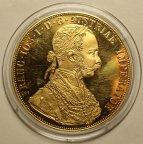 4 Дуката 1915 год. Франц Иосиф I. Австро-Венгрия. Золото! Вес: 14 грамм. Редкая!